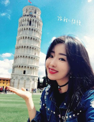 Pisa Portrait Beauty Day Young Women Photo Picnic Hi! Sky Lovely Cute Young Adult Nice Nice