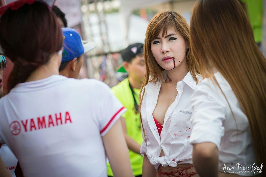 Run For Your Lifes Thailand http://www.photostory.in.th http://fb.me/ArchMerciGod Sexygirl Modelgirl Candid Portrait RFYL Rfylth Yamaha Beautiful Girl RFYLasia Cute