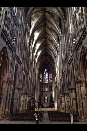 St. Stephan's Cathedral. Metz Religion Traveling