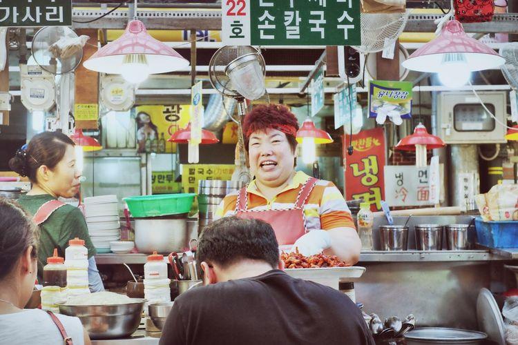 Market-Woman at