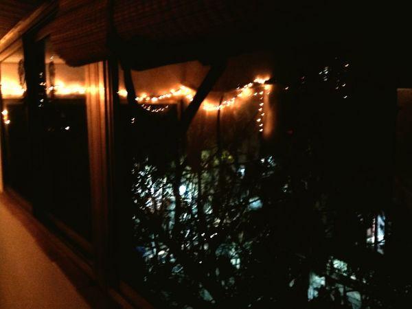 Luz Noche Ciudad Buenos Aires Argentina