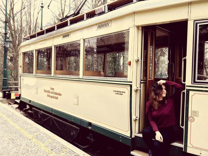 Austria Hill Trams Fancy Glod Old