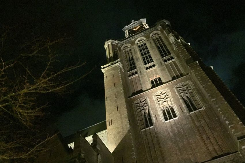 Grote Kerk Dordrecht Grote Kerk Big Church  Night Nightphotography Night Lights Night Photography