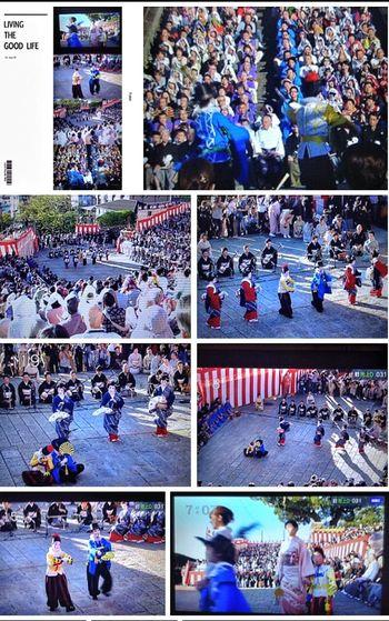 Nagasaki Kunchi Festival 1st program/ Shimbashimachi : Suwa Shinto Shrine TV Screenshot 和華蘭(Nagasaki Culture) IPod Touch Photography Capture The Moment