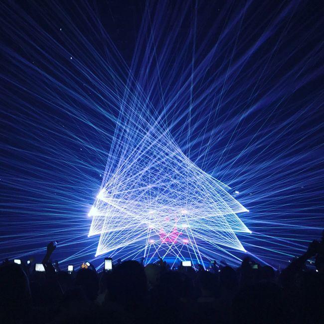 Event Stage Light Event Crowd Lights Lightshow Concert
