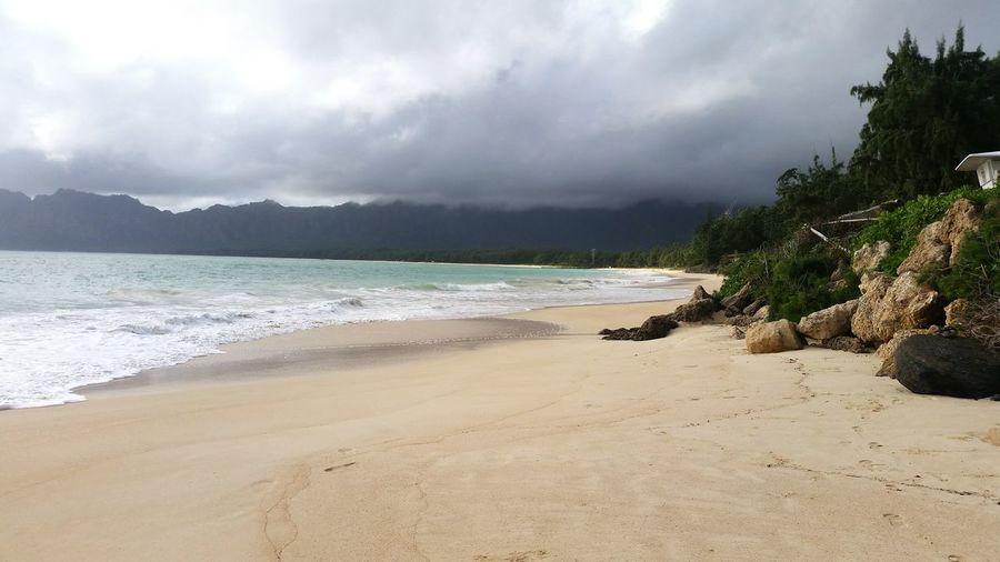 Sunshine Swimming Sea Pacific Ocean Ocean Hawaii Hawaiian Oahu Beach Bellows
