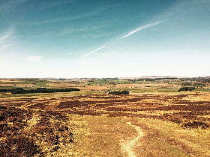 Walking Outdoors Landscape Scotland View