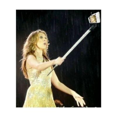 "Even Celine has a ""Tongsis"" Celinedion Tongsis Selfie"