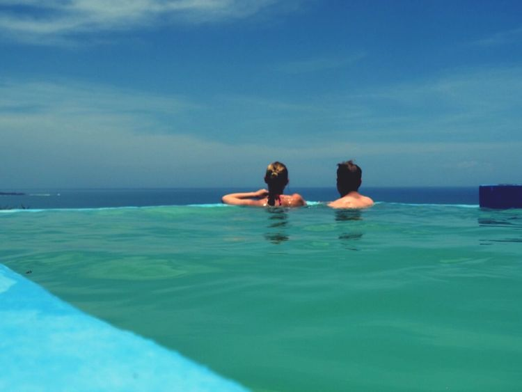 Faces Of Summer Costa Rica Pacific Ocean View Pacific Scenery Blue Poolside Perfect Day