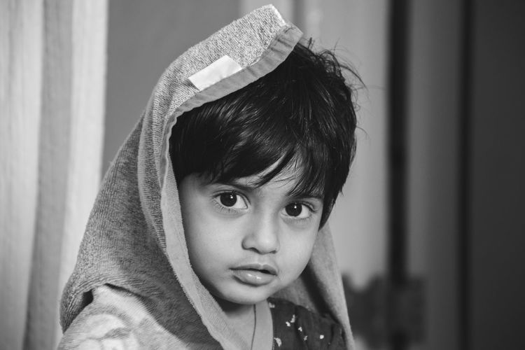 """Its been only 2 year and i am already Awesome"" Kids are awesome always curious, excited for new things, loaded with cuteness and clear heart. Thats why they are perfect models. 😂😂 Monocrome Blackandwhitechallange Puneinstagrammers Blackandwhiteonly Mumbai Parbhani Blackandwhite Photography Black And White Portrait Female Portraits Female Face Kid Blackandwhite Choseup Kidsphotography Cuteness Cutenessoverload Cute Indoor Indian Women Blackandwhite Portrait Child Childhood Children Only Sadness Disappointment One Person Elementary Age Indoors  Headshot People One Girl Only Portrait Close-up"