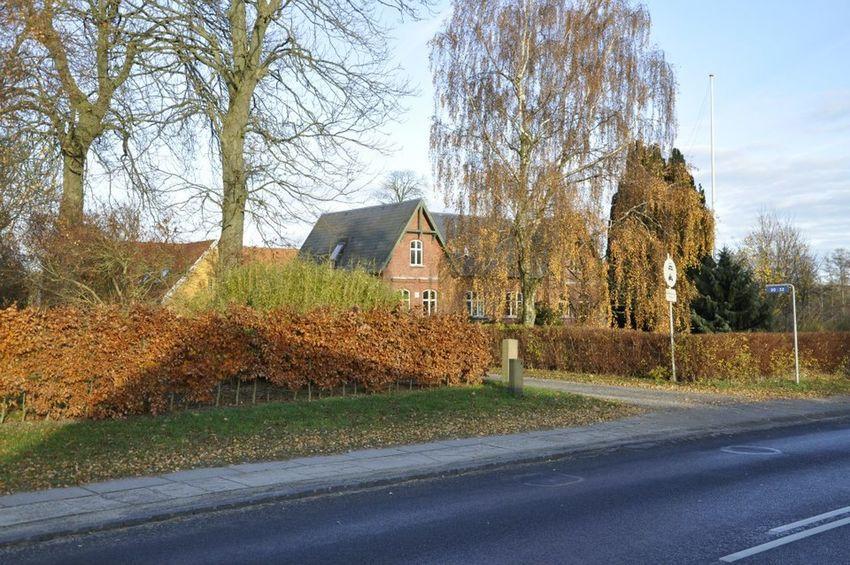 Bicycle Brick Wall Bridge Building Church Denmark Odense City Outdoors