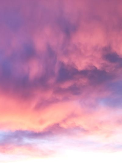 Dramatic Sky Cloud - Sky Sky Sunset Backgrounds Cloudscape Beauty In Nature Abstract Nature Scenics Sky Only Weather Multi Colored Pink Color Purple No People Idyllic Low Angle View Bright Tranquil Scene