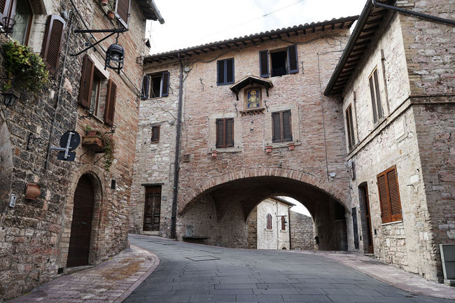 Assisi Travel Photography Arch Architecture Building Exterior Built Structure City Day Italy❤️ No People Outdoors Town Window With Wife