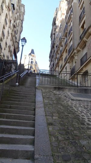 City Street Architecture Building Exterior Built Structure City Day Outdoors Sky Staircase Steps And Staircases