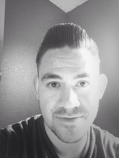 Getting the hang of a full pompadour! Loving the style. Greaser Selfie Self Portrait People
