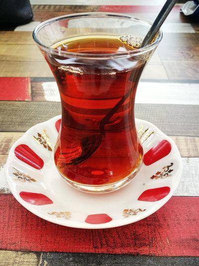 First Eyeem Photo EyeEm Best Shots Drink Hottea Turkishtea Tea Delicious Traditional Teaglass