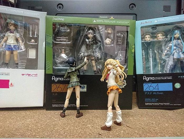 Figma Xperia_knight Asunaalo Kitakami Ooi Rikajougasaki Kotoriminami Lovelife Sao Saoalo Saoaloggo Kancolle Kantaicollection Kantaikancolle Kantai Cinderallagirls Idolmastercinderellagirls