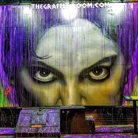 @thegraffitiroom , Photo by @epok_artography Ripprince Prince  Purplerain NYC Nolita Newyork Manhattan Streetphotography Nyphotography Streetart Nystreetart StreetArtNYC Littleitalynyc Littleitalystreetart Art UrbanART Love