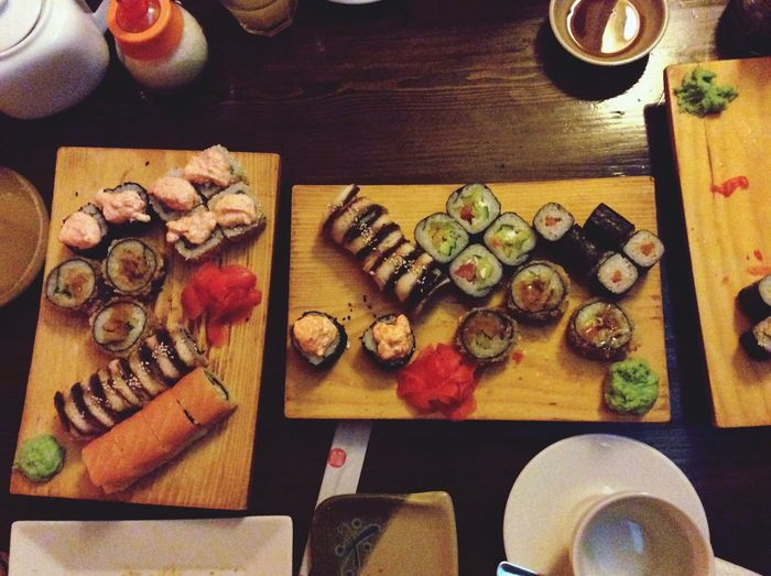 Sushi California Roll Love