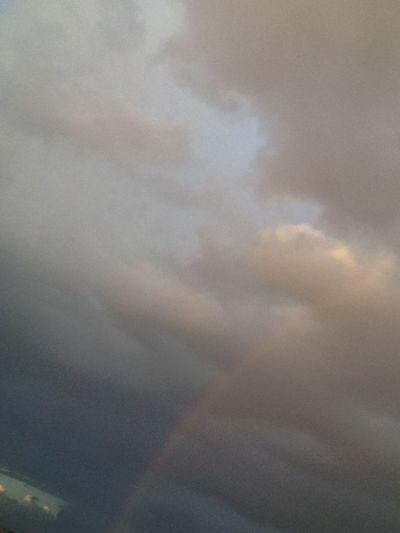 Rainbow🌈 Poluição deixou o céu tão feio, imaginar que isso vai piorar mais daqui a alguns anos é muito triste.