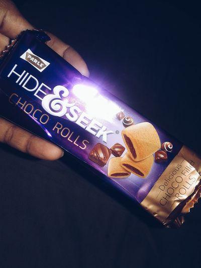 Hide&seek Choco Rolls My Best Photo 2017 Still Life Beautiful Feeling😊😄
