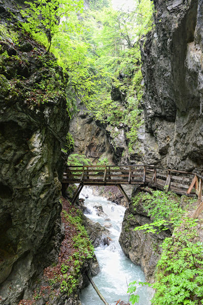 hiking through the Wolfsklamm gorge on stairs. European Alps. Part of Karwendel mountains. Alps Austria Austria ❤ Canyon Canyons Europe European Alps Gorge Klamm River Stallenbach Stallenbachtal Stream Tirol  Tyrol Tyrol-Austria Valley Water Waterfall Waterfalls Wolfsklamm
