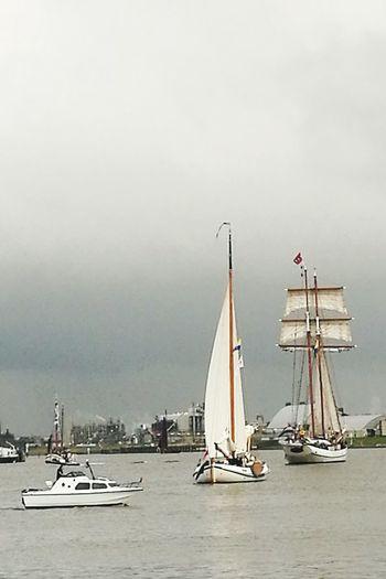 The Netherlands Delfzijl Delfsail 2016 Tall Ships Festival Tall Ships Sail