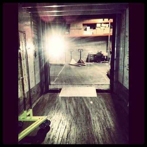 Work 4am Unload Truck