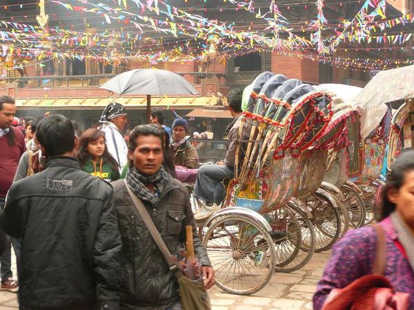 Rikscha Riksha Rikshaw Nepalese Crowded Place Crowded Street Busy Place Busy Street People Kathmandu Kathmandu, Nepal Nepal Small Business