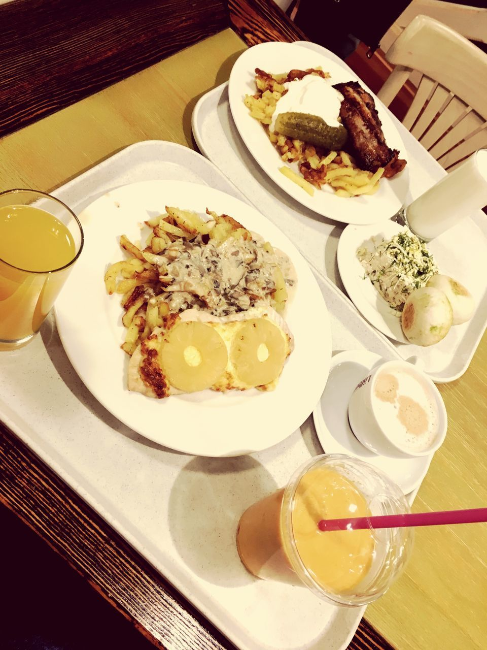 plate, food and drink, food, table, indoors, high angle view, ready-to-eat, no people, unhealthy eating, serving size, meat, freshness, hamburger, day
