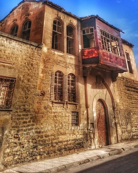 Architecture Building Exterior Built Structure No People Sky Outdoors Low Angle View Clock Day Hakandirik Turkey Old Buildings City Life City Travel Destinations Architecture Ottoman Life Kilis Old Architecture Oldhouse Hdr_Collection EyeEm Best Shots EyeEmTurkey Eskiev Historical Building The Architect - 2017 EyeEm Awards