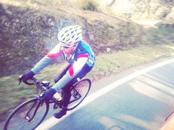 ciclista do mato