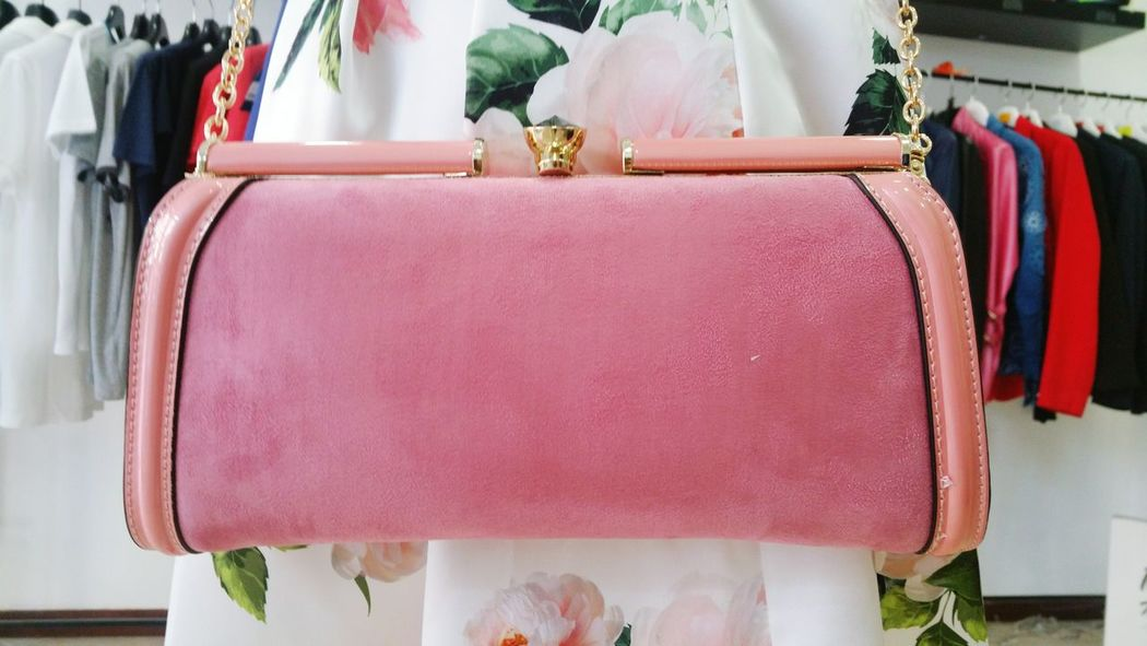 Bag Store No People, Pink Color Beauty Accesories