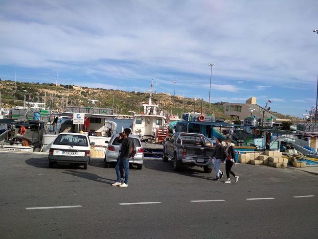 Gozo Malta Car Transportation Mode Of Transport Outdoors Occupation Men