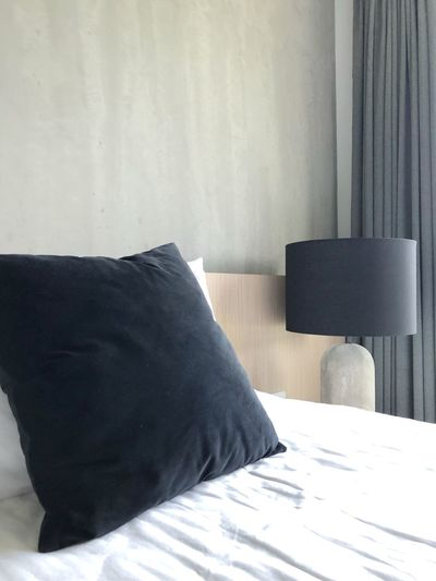 Hotel room online booking concept Warmth And Sunshine Comfy And Cozy Online Booking Hotel Bed Hotel Room Furniture Indoors  Bed Home Interior Wall - Building Feature Domestic Room Bedroom Architecture Sunlight Curtain Table Sofa