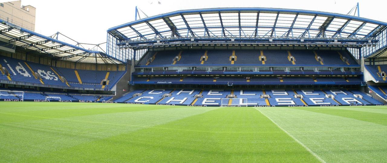 Stadio del Chelsea, Londra Architecture Calcio Chelseafc Football Stadium No People Soccer Soccer Field Sport Stadio Stadium