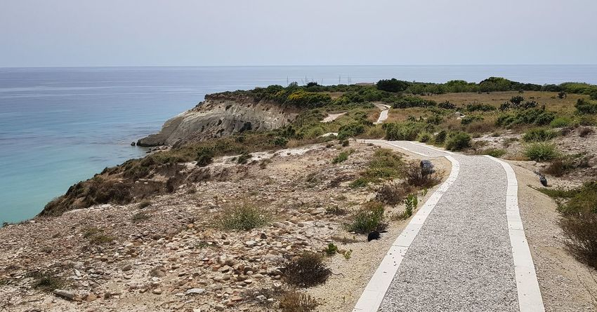 Panoramic Photography Agrigento Agrigento Sicily Panoramic Landscape Water Sea Beach Sand Sky Horizon Over Water