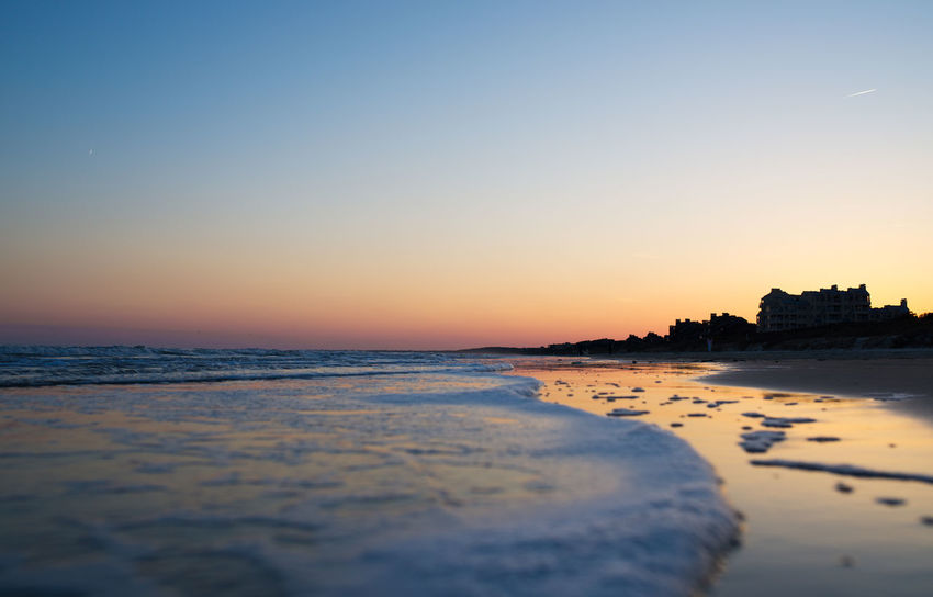 Sunset in Kiawah Island, South Carolina Beach Dusk Landscape Landscape_Collection Landscape_photography Scenic Scenic Landscapes Scenics Shore Sunrise Sunset Tidal Tide Tranquility