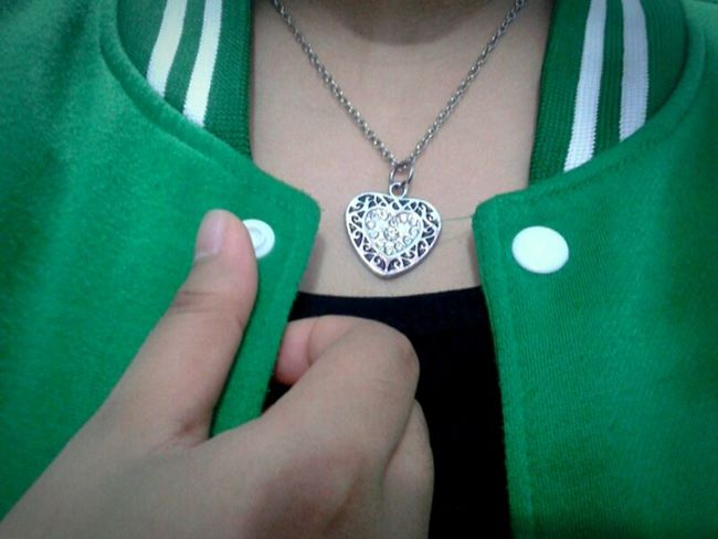 My lovely Necklace Lovely A Week On Eyeem Thanks♥ My Necklace ♡  Just For Fun Likeforlike