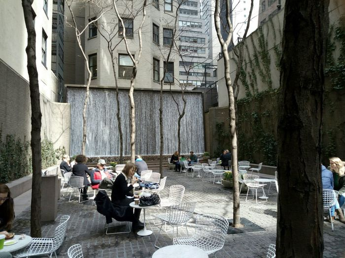 Small Oasis In New York City On 53rd St Btwn 5th Ave And Madison