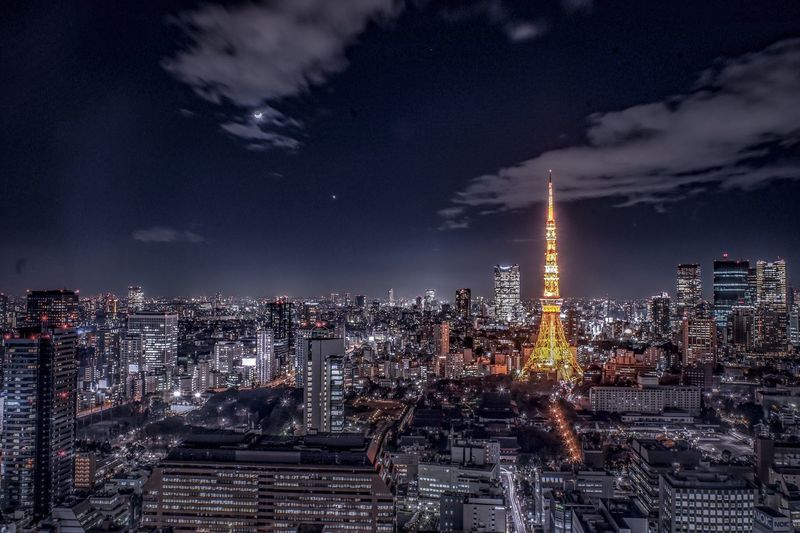 Tokyo Tower and