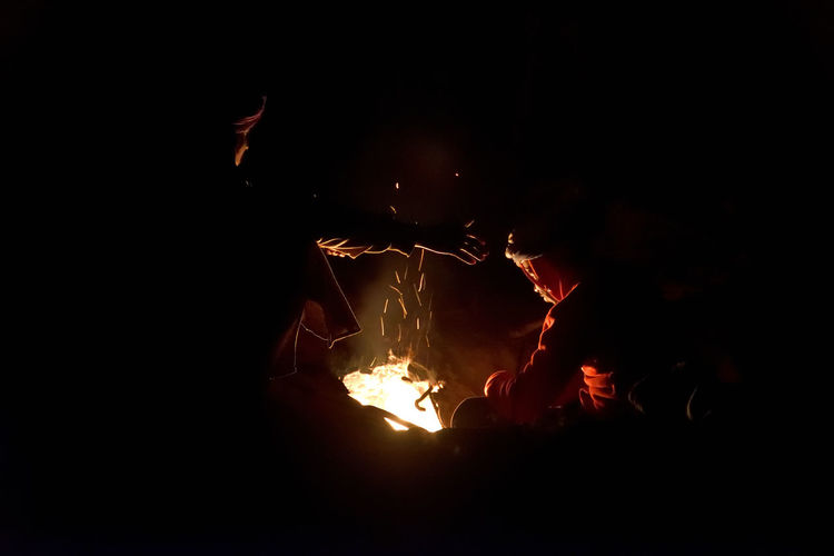 Life in The Sahara Wood Night Motion Nature Men Fire Flame Camping Glowing Outdoors Burning Illuminated Dark Campfire Bonfire Adventure Firewood Log Desert Life Backing Bread  Orange Color Heat - Temperature Atmosphere Light Capture Tomorrow Nikon D 750