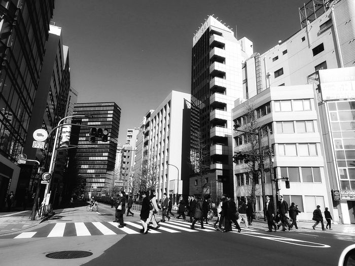 Monday Monochrome 信号待ち の時、 東京渋谷区。While waiting on a red light.. near Takeshita-dori Shibuya, Tokyo. | ―――――――――――――――――――― Red Light Shot ✌ Pedestrian Crossing 交差点 モノクロ モノクローム モノクロ部 Building Exterior Architecture Built Structure City Life Cityscape Street Photography Streetphoto_bw Street Life Streetphotography_bw Black And White Noiretblanc Black And White Photography EyeEm Gallery EyeEmNewHere EyeEm Best Shots - Black + White EyeEm Best Shots - The Streets From My Point Of View