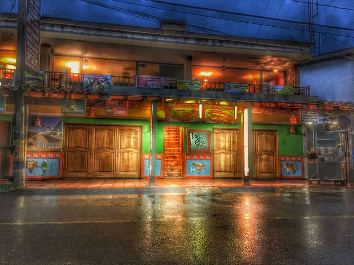 My favorite place to eat in Guatape Guatape Food Spicy Colombia Architecture Residential Building Don De Sam Medellín