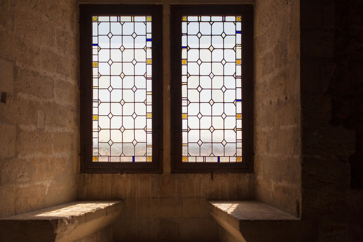 Ancient Avignon Close-up Dark Day Domestic Room Empty Geometric Shape Indoors  Interior No People Stone Travel Destination Window