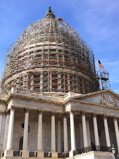 The Architect - 2016 EyeEm Awards Washington, D. C. The Capitol Capitol Hill Scaffolding