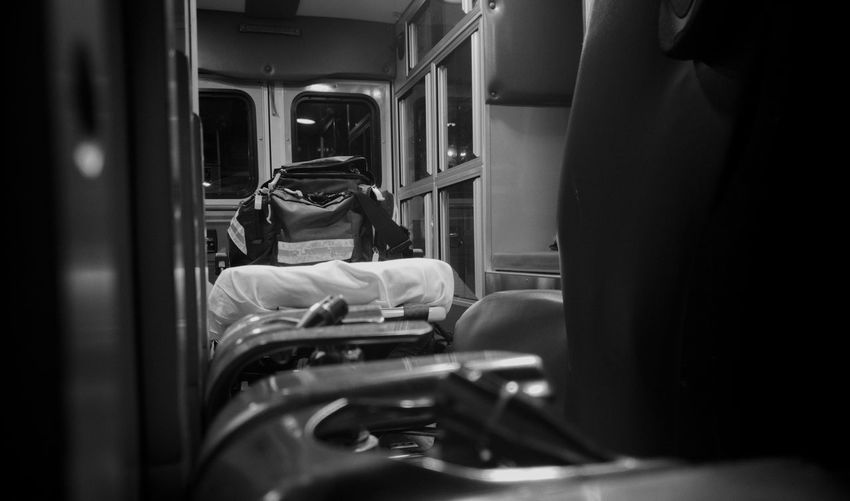 The Back Of The Ambulance Saving Lives Paramedic Office EMS Career Emslife taken with Lg V10Black And White The Innovator The First Responder My Favorite Place The City Light Lifestyle Sacrifice Serving Texas Ambulance Transportation Travel Stationary Service M Close-up Service Ambulance Enjoying Life Sacrifice MERICA!! Texas No People Happiness The Secret Spaces The Street Photographer - 2017 EyeEm Awards