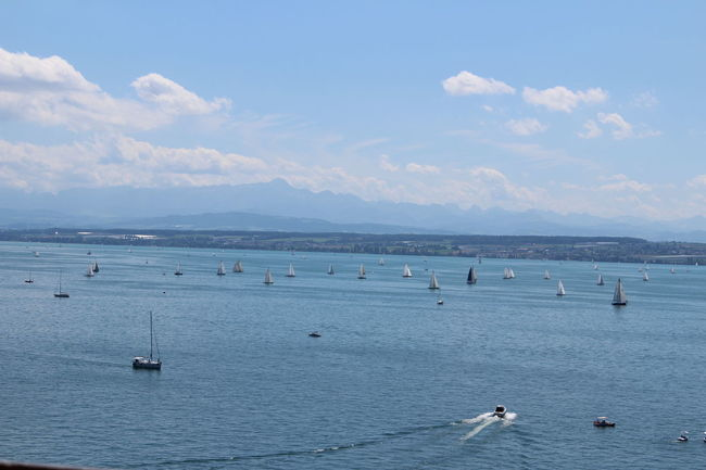 Holliday Bodensee Lake Taking Photos Water Sailboat Nature Photography