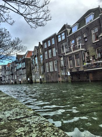 Taking Photos Check This Out IPhoneography Dordrecht Cityscapes Hdr_Collection Streetphotography Water Reflections Melancholic Landscapes