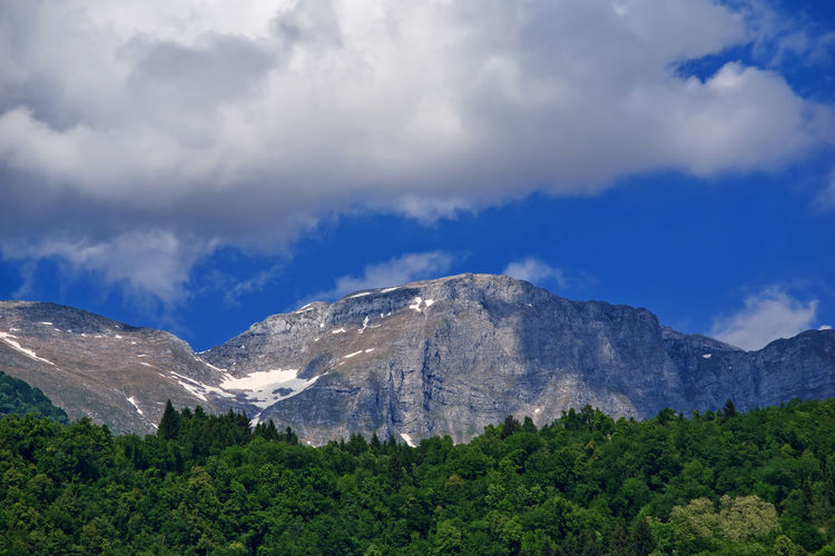 Alps Alps Slovenia Beauty In Nature Cloud - Sky Day Environment Growth Land Landscape Mountain Mountain Peak Mountain Range Nature No People Non-urban Scene Outdoors Plant Scenics - Nature Sky Tranquil Scene Tranquility Tree